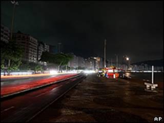Apagón en Rio de Janeiro
