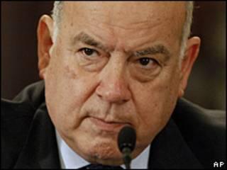 O secretário-geral da Organização dos Estados Americanos (OEA), José Miguel Insulza