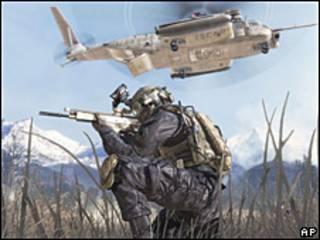 Imagen del videojuego Warfare 2.