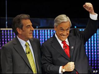 Sebastián Piñera y Eduardo Frei.