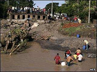 Lluvias en El Salvador