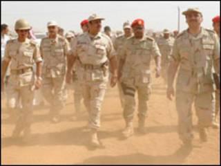 مساعد وزير الدفاع السعودى على حدود اليمن