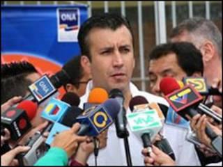 Tareck El Aissami, ministro del Interior de Venezuela (foto cortesía sitio de internet del gobierno veenzolano)