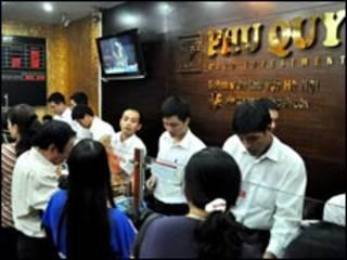 Một cửa hàng vàng ở Hà Nội (ảnh của VnExpres)