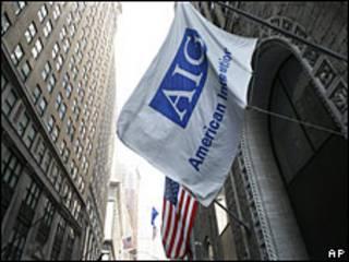 Bandera de AIG.
