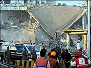 Yıkılan ISI binası
