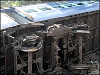 पटरी से उतरी ट्रेन (फ़ाइल फ़ोटो)