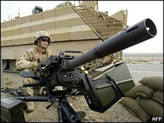 Soldado británico en Irak
