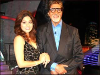 शमिता शेट्टी और अमिताभ बच्चन
