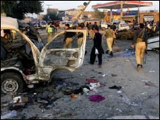 पाकिस्तान में धमाका (फ़ाइल)