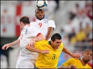 مباراة البرازيل - انجلترا