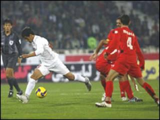 عکس آرشیوی از بازی ایران و اردن
