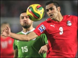 مباراة مصر والجزائر في القاهرة