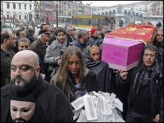 """""""Похорон"""" Венеції"""