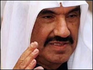 الشيخ ناصر محمد الصباح