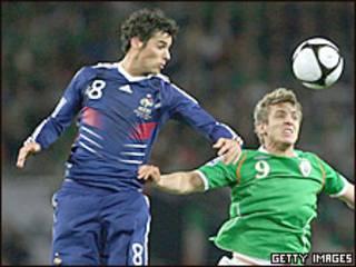 Матч Франция-Ирландия