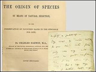 El origen de las especies, de Charles Darwin