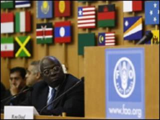 Jacques Diouf, shugaban hukumar FAO