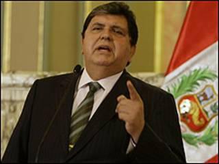 shugaban kasar Peru Alan Garcia