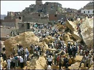 حادثة الدويقة بالقاهرة