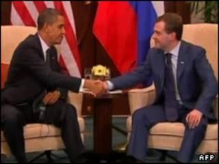اوباما و میدویدوف