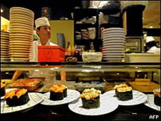 Restaurante de comida japonesa en Tokio (Foto: Archivo)