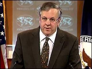 ایان کلی سخنگوی وزارت خارجه آمریکا