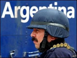Policía argentino (foto de archivo)