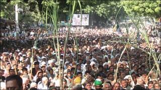 गन्ना किसानों की दिल्ली में रैली (फ़ाइल फ़ोटो)