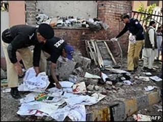 Escenario del ataque en Peshawar
