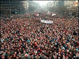 انقلاب مخملی در چکسلواکی
