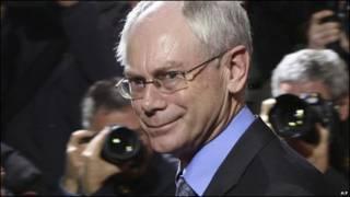 Van Rompuy, presidente de Unión Europea.