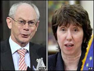 Herman Van Rompuy e Catherine Ashton