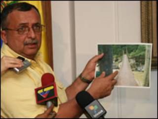 O vice-presidente e ministro da Defesa venezuelano, Ramón Carrizález