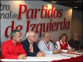 Encuentro Internacional de Partidos de Izquierda. Cortesía PSUV.