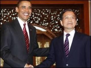 اوباما وجياباو