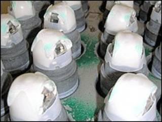 مخزون من القنابل العنقودية