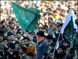 مسلمون في كشمير