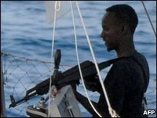 قرصان صومالي