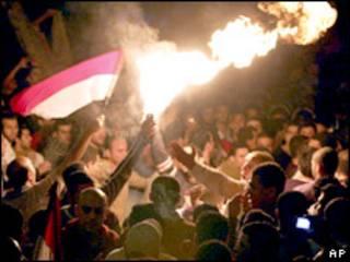 Протест египетских болельщиков