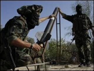شبه نظامیان فلسطینی