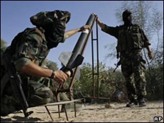 Палестинские боевики