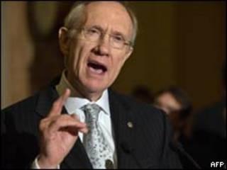 美國參議院多數黨領袖里德(21/11/2009)