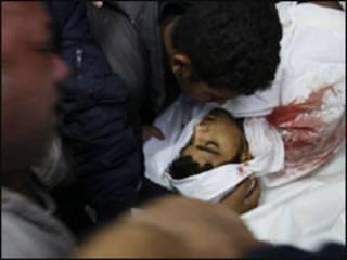 قتيل فلسطيني في غارة اسرائيلية