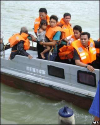 Rescate de sobrevivientes