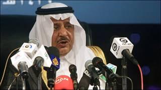 وأكد الأمير نايف بن عبد العزيز النائب الثاني لرئيس الوزراء السعودي ووزير الداخلية