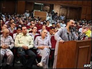 Mohammed Ali Abtahi durante julgamento em agosto (arquivo)