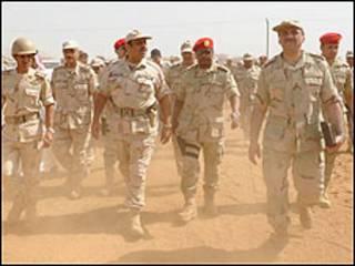 تركزت هجمات الحوثيين في منطقة جبل رميح الحدودية