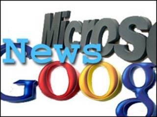 Logos de Google y Microsoft