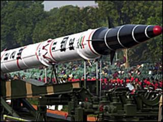 अग्नि -2 मिसाइल (फ़ाइल फ़ोटो)